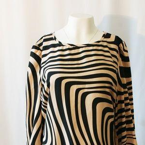 Fun Striped Tahari Dress, Like New!